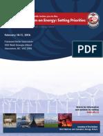 AFN Energy Forum Brochure
