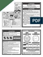 Tamagotchi 4U+ English Instruction Manual