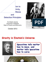 An Introduction to General Relativity, Gravitational Waves and Detection Principles