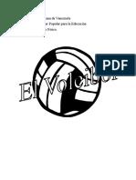 Voleibol Información