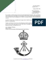 1931 obli regimental crest