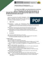 Directiva Finalización Del Año Escolar 2015_secundaria (1)