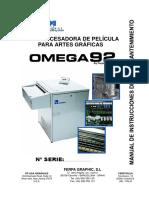 Manual Omega 92