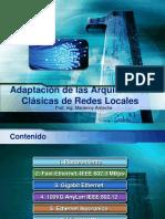 Redes de Alta Velocidad, Adaptación de Redes Clasicas