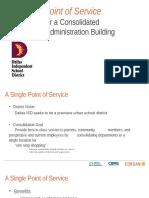 Facility Consolidation - Dallas ISD