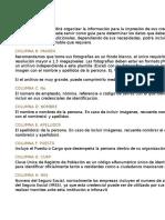 Plantilla Credenciales de PVC