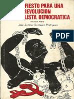 Manifiesto Para Una Revolucion Nacionalista Democratica 2ª Part3