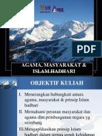 2. Agama, Masyarakat Dan Islam Hadhari (WA) #Print