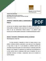 Bialogorski y Fritz (2012) Museos y Visitantes. Repensarnos Contra Las Inercias