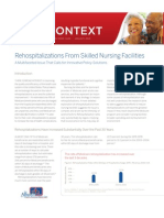 Care Context Re Hospitalization In Post-Acute Care Jan 2010