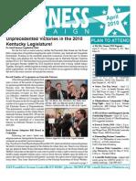 Fairness Campaign Newsletter April 2010