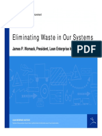 Eliminating Waste Our Systems