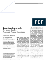 Trust-based Approach for Local Bodies 0