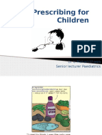 10- Prescribing for Children