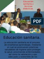 exposición educación sanitaria