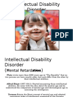 Intellectual Disability Disorder