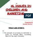 Children and Marketing
