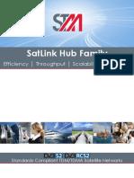 STM SatLink Hub Family Manual