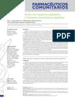 2014, Perfil de Los Pacientes Con Trastorno Adaptativo Que Acuden a Las Farmacias Comunitarias Españolas