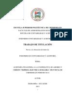 Tesis Audit Finanaciera