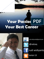 Your Passion is Your Best Career