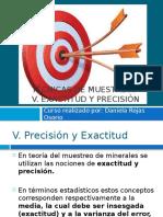 Exactitud y Presicion