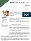 Devangshu Datta_ Where Democracy Wins _ Business Standard Column
