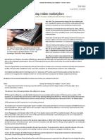 Govt Drops Idea of Defining Online Marketplace - Print View - Livemint