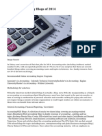 50 Best Accounting Blogs of 2014