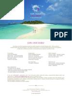 Sun Aqua Vilu Reef_Job Posting_08 Jan 2016