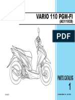 Part Catalog New Honda Vario FI