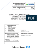 Level Transmitter Manual