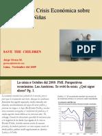 Crisis Económica e infancia 2009. América Latina. Oroza