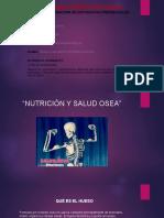 Nutrición y Salud Ósea
