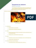 5 Cara (Metode) Memadamkan API - Kebakaran