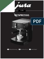 Jura Nespresso n30