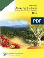 Statistik Kelapa Sawit Indonesia 2014