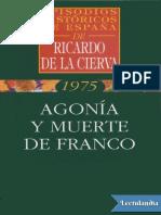 Agonia y Muerte de Franco