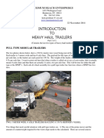 Introduction to Heavy Haul Trailers Part 2 of 2