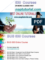 BUS 630 Apprentice tutors/ snaptutorial