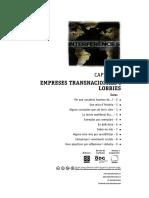 Cap. 4 Empreses transnacionals i lobbies