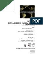 Cap. 1 Deuda externa y ayuda oficial al desarrollo