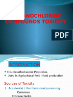 Organochlorine Compouds Toxicity