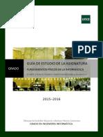 Guia II Fundamentos Físicos Informatica 2015 2016