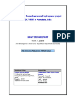 hydro power plant project report