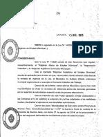 La Federación de Municipales de la Provincia suspendieron la ley 14656