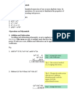 2   operations on polynomials