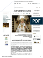 Christmas Message of Patriarch Kirill of Moscow and All Russia _ OrthoChristian