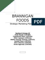 Brannigan Foods Case