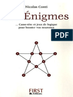 300 Enigmes, Casse-tête et jeux de logique pour booster vos neurones - First3.pdf